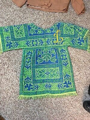 1960s Beach Towel Cover Up