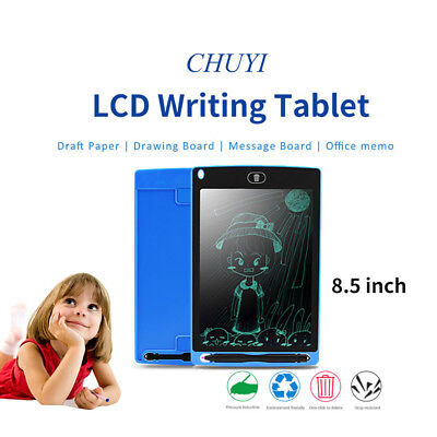 "8.5"" LCD Writing Board/Drawing Tablet Handwriting Pad+Stylus Pen 5 Colors Hot AU"