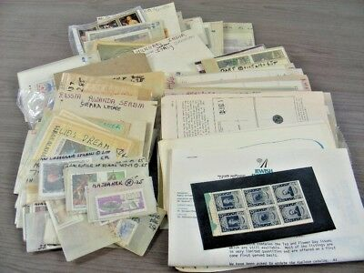 WW, MIDDLE EAST, Excellent Accumulation of Stamps in glassines, many MINT !!