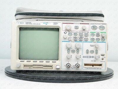Agilent 54622D Mixed-Signal Oscilloscope 2+16 Channel 100MHz Opt. N/A TESTED