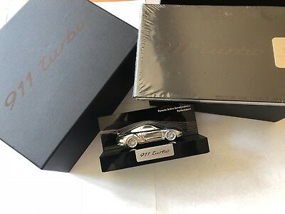 2013 2014 Porsche 911 Turbo Owners Welcome Promo Box - Wind Model & Brochure