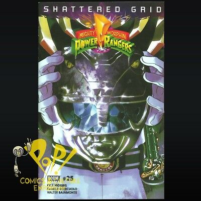 Mighty Morphin POWER RANGERS #25 Shattered GRID Boom Studios BLACK Variant!
