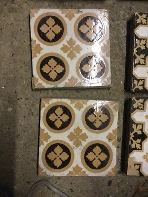 Original Victorian Minton Floor Tiles A. W. N. Pugin Design Provenance Original