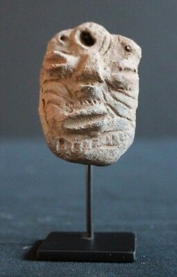old collectible Yaul pottery mask, Yuat River
