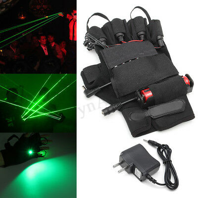 Right Hand Green Lazer Laser Glove DJ Stage Dance Party Club Show Lighting