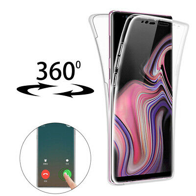 For Samsung Galaxy S10/Plus/S10e/Note 9 Crystal Clear Slim Rubber TPU Phone Case