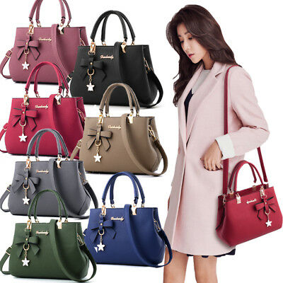 Womens Large Leather Handbags Shoulder Bags Messenger Hobo Tote Purse Designer