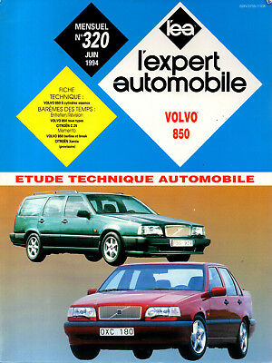 RTA revue technique automobile n° 320 VOLVO 850