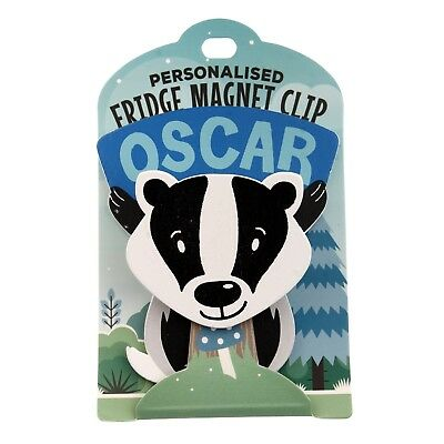 Fridge Magnet Clip Oscar
