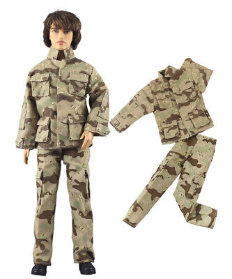 Fashion Outfits/Clothes/Uniform Top+Pants For 12 inch Ken Doll