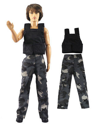 Fashion Outfits/Clothes/Uniform Tops+Pants For 12 inch Ken Doll B40