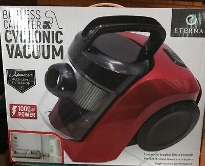 Eternal Bagless Canister Cyclone Vacuum