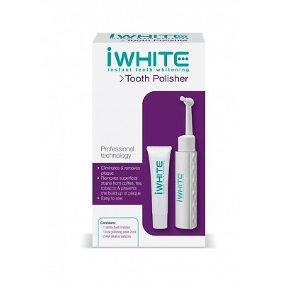 iWHITE Instant teeth whitening Professional Tooth Polisher Kit