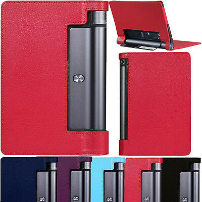 """Slim Leather Case Smart Cover For Lenovo Yoga Tab 3 10.1"""" Inch Tablet YT3-X50F"""