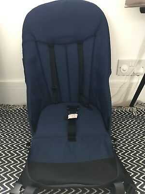 Bugaboo Cameleon Navy Blue Seat Fabric With Board And Foam Immaculate