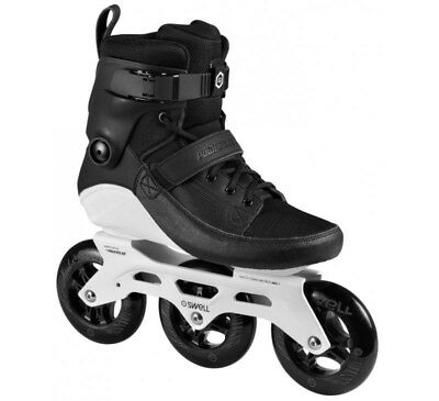 Powerslide Swell 110 Inline Skates (EU45) Male Black. Almost Perfect Condition.