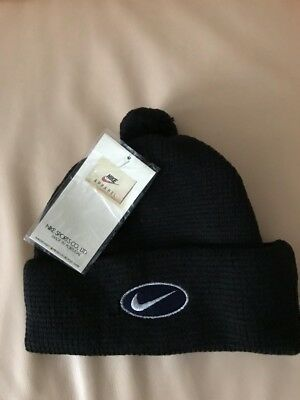 new style fb8d8 63eaa Nike Beanie 90s, 100% Wool, New With Tags, Vintage, Original