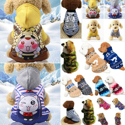 Dog Cat Coat Jacket Pet Supplies Clothes Winter Apparel Clothing Puppy Costume E