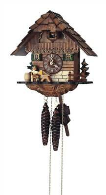 1-Day Wooden Cuckoo Clock in Antique Finish [ID 93553]