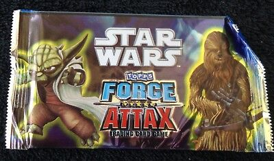 2011 Star Wars Topps Force Attax Trading Card Game Pack Yoda & Chewbacca (#51)