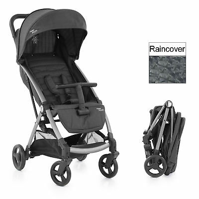 New Babystyle Tungsten Grey Oyster Atom Pushchair Stroller With Raincover