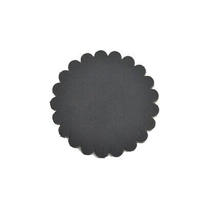 "12 pack - Leather Concho Rosette 2"" Leathercraft Charred Brown"