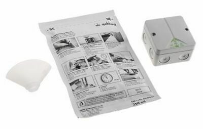 Polycarbonate IP68 Junction Box, 80 x 80 x 52mm, Grey