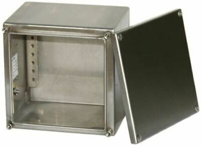 Stainless Steel IP66 Junction Box, 300 x 120 x 300mm, Natural
