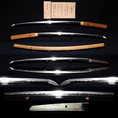 刀 KATANA ANTIQUE JAPANESE LONG SWORD 67.5cm Signed 兼辰 KANETOKI, Momoyama Period
