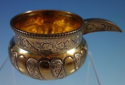 Tane Mexican Mexico Sterling Silver Cossack Kovsh Bowl Russian Influence (#1712)