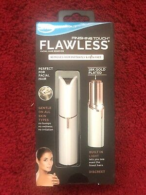 JML Finishing Touch Flawless Facial Hair Remover