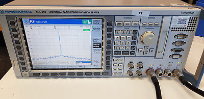Rohde & Schwarz Universal Radio Communication Tester CMU200 (inc. Audio)