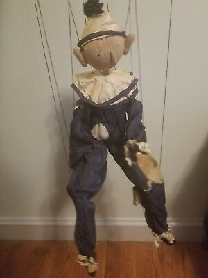 """20"""" Marionette By Edith Flack Ackley (100% Original)"""