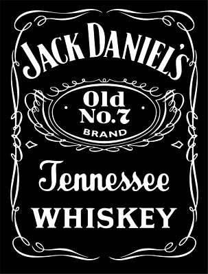 Jack Daniels - Edible Icing Image - Cake Topper - Approx 15Cm X 10Cm