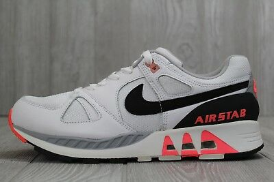 8810dcdd38aaf 34 NIKE AIR Stab Running Shoes Infrared Hot Lava Men's Sizes 10, 10.5  312451 101