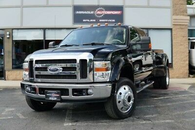 2008 Ford F-450  75k low mile lariat free shipping warranty clean carfax 2 owner cheap finance