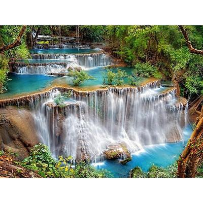 Waterfall 5D DIY Full Drill Diamond Painting Embroidery Mosaic Cross Stitch Gift