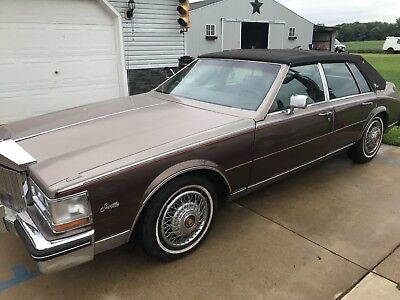 1984 Cadillac Seville  1984 cadillac seville LOW MILES