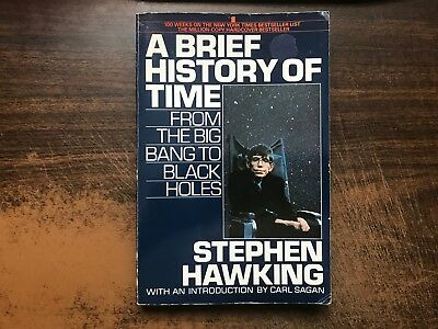 A Brief History of Time by Stephen Hawking 1st Softback 1990