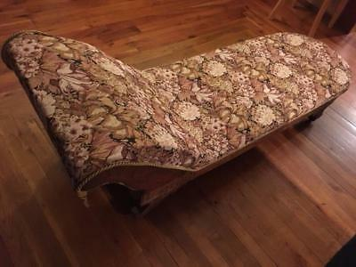 Eastlake fainting couch/ chaise