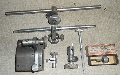 Vintage Machinist Tools=Surface Gauge Indicator Stand – Non-Magnetic Base +++
