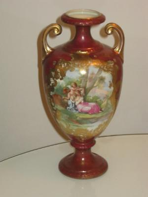 Stunning Antique Empire China Porcelain Vase