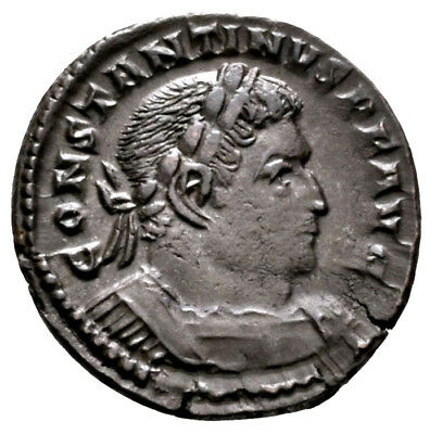 CONSTANTINE THE GREAT (310-313 AD) AE Follis, Trier #MA 626