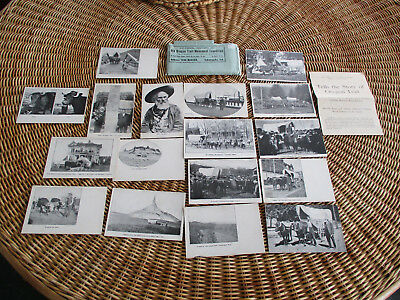 Pictorial History of Old Oregon Trail Monument Expedition Ezra Meeker postcards