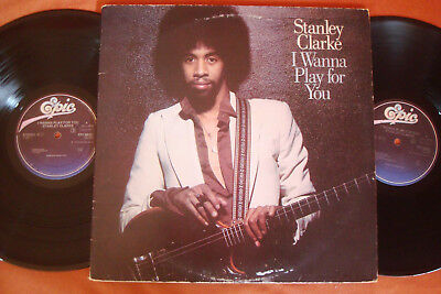Stanley Clarke - I Wanna Play For You - Doppel - Lp - Ois Klappcover