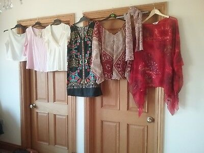 Large Bundle of ladies clothes size 16 Marks And Spencer, Kaleidoscope,bnwt top,