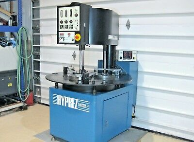 """HYPREZ ENGIS 28 LM Lapping Machine Lapper Polisher, 3 12"""" Rings Plate 28LM230 VP"""