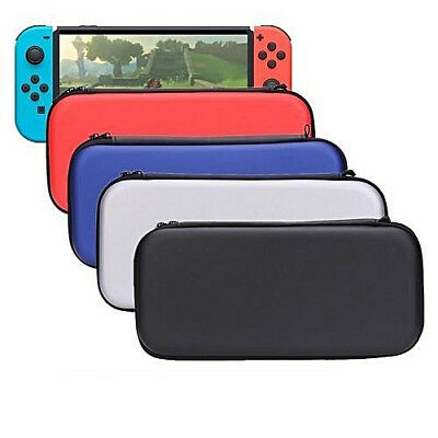 Nintendo Switch Console EVA Hard Protective Case Zip Cover Carry Bag Pouch