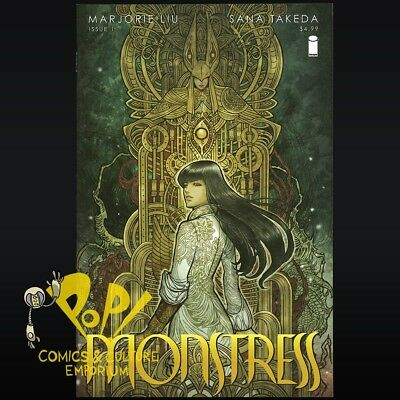 MONSTRESS #1 1ST PRINT Marjorie Liu Image Comics NM- R093