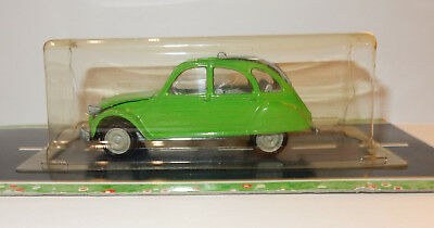 OLD NOREV JET CAR MADE IN FRANCE 1985 CITROEN 2CV 1974/1981 verte 1/43 blister